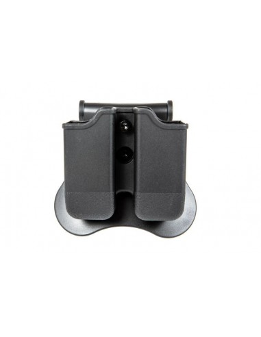 HOLSTER RIGIDE DOUBLE PORTE CHARGEURS...