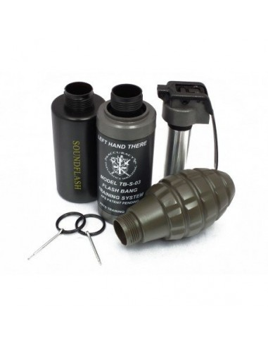 PACK 3 COQUES DIVERSES GRENADES TYPE...